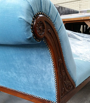 Restored Chaise upholstery Perth