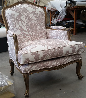 Restored King Louis Chair